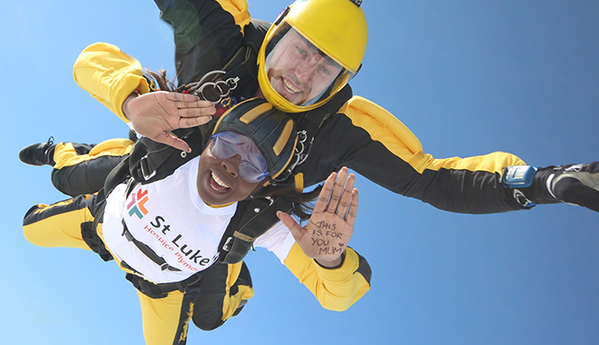 Skydive for St Luke's Hospice Plymouth!