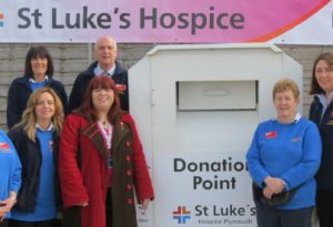 St Luke's Hospice Plymouth Recycling
