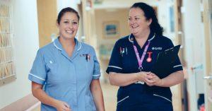 Nurses at St Luke's specialist unit