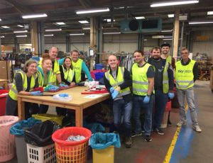 EE Corporate volunteers