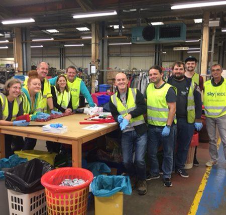 EE Corporate volunteers