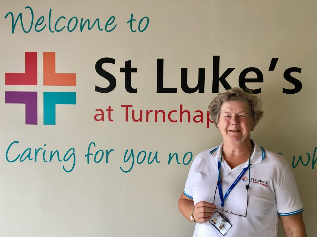 Amanda Vincent St Luke's Volunteer