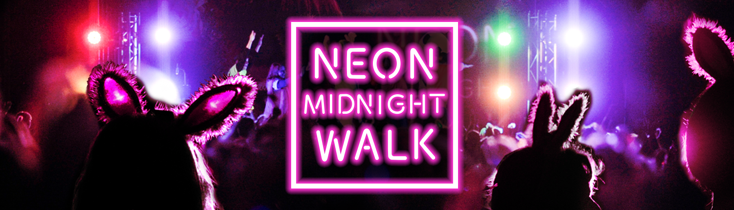 Neon Midnight Walk St Luke S Hospice Plymouth