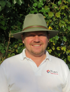 A portrait picture of Open Gardens organiser Wayne Marshall