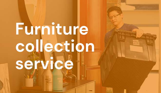 Furniture collection service