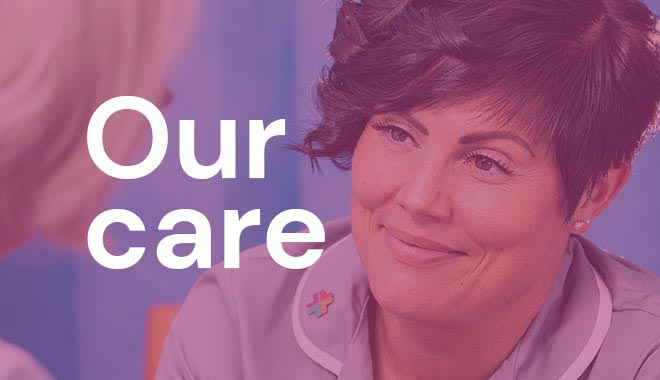our care